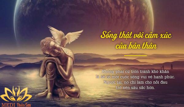 Lời Phật dạy về hạnh phúc, sống bằng cảm xúc