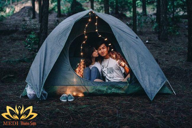 cắm trại gần hà nội