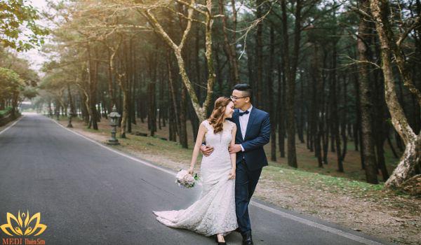 Cung đường chụp ảnh cưới Ba Vì