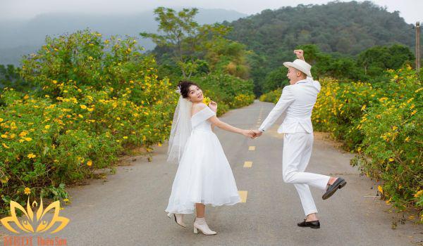 Chụp ảnh cưới Hà Nội tại MEDI