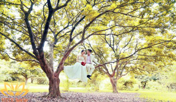 Chụp hình cưới Hà Nội tại Gia Lâm