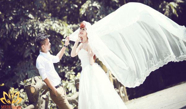 Chụp ảnh cưới Ba Vì tại MEDI Thiên Sơn