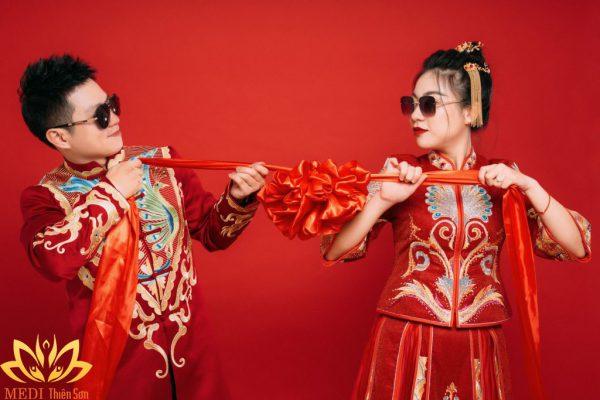 Chụp ảnh cưới Trung Quốc