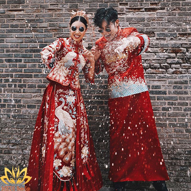 Chụp ảnh cưới cổ trang Trung Quốc