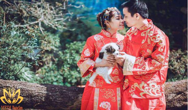 Bối cảnh chụp ảnh cưới Trung Quốc