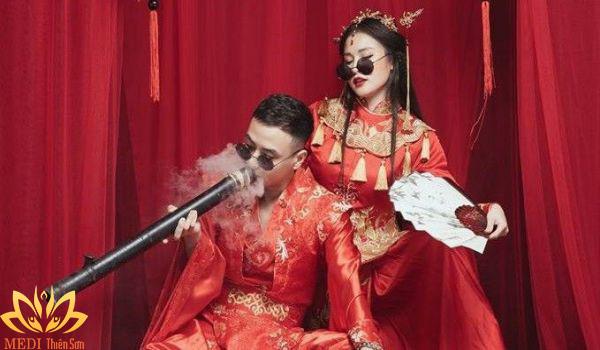 Studio chụp ảnh cưới Trung Quốc