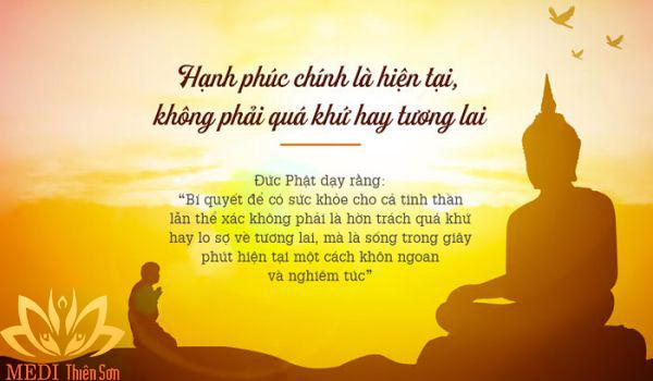 Lời Phật dạy về hạnh phúc, trân trọng thực tại