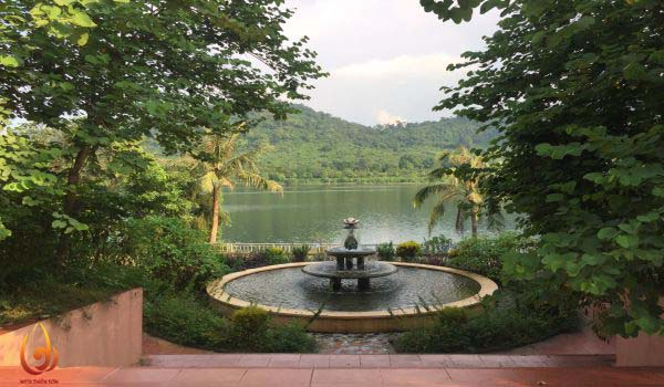 Cảnh sắc khu du lịch hồ Tiên Sa Ba Vì