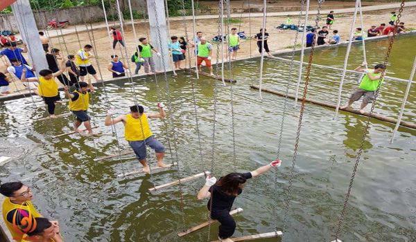Hoạt động vui chơi tại khu du lịch hồ Tiên Sa Ba Vì