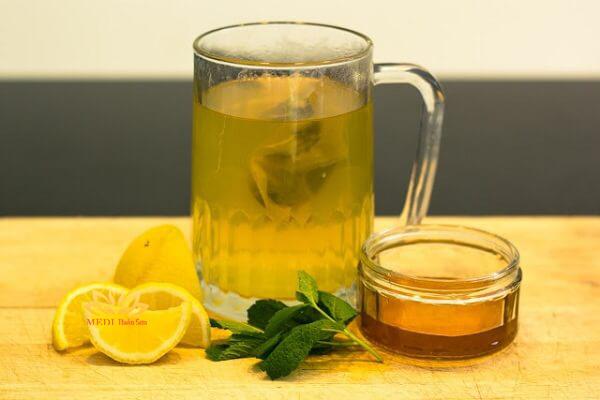 Trà dưỡng nhan từ trà xanh